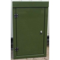 K1 single door GPR enclosure - W 600 D 350 H 1000
