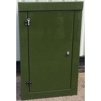 K2 single door GPR enclosure - W 750 D 500 H 1250